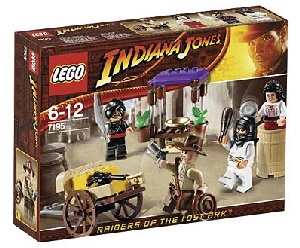 LEGO - Indiana Jones Ambush in Cairo[7195]