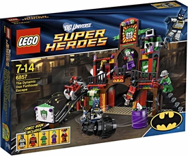 LEGO DC Super Heroes - Dynamic Duo Funhouse Escape 6857