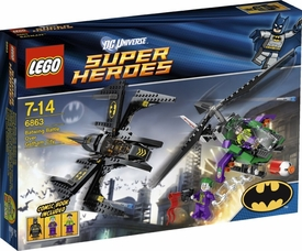 LEGO DC Super Heroes - Batwing Battle Over Gotham City 6863