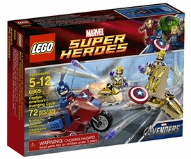 LEGO Marvel Super Heroes - Captain America Avenging Cycle 6865