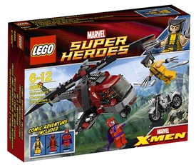 LEGO Marvel Super Heroes - Wolverine Chopper Showdown 6866