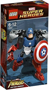 LEGO Marvel Super Heroes - Captain America Ultrabuild 4597
