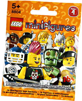 LEGO Minifigure Series 4 Mystery Bag Pack