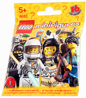 LEGO Minifigure Series 1 Mystery Bag Pack