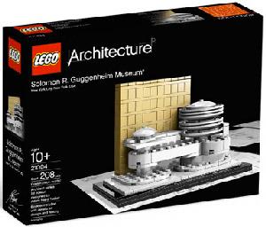 LEGO - Architecture - Solomon R. Guggenheim Museum - 21004