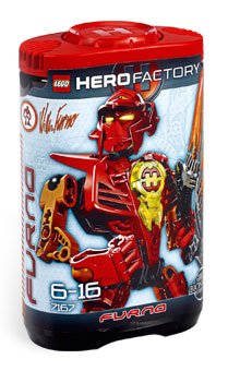 LEGO Hero Factory William Furno (Red) 7167
