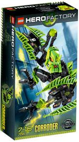 LEGO Hero Factory Corroder (Green) 7156