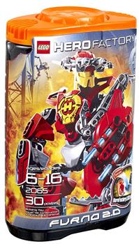 LEGO Hero Factory Furno 2.0 (Red) 2065