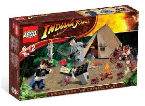 LEGO - Indiana Jones Jungle Duel[7624]