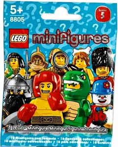 LEGO Minifigure Series 5 Mystery Bag Pack[5 pack]