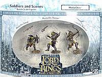 LOTR 3-inch: Moria Orcs -  Sneak, Bowman and Runner