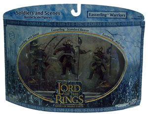 LOTR 3-inch: Easterling Warriors