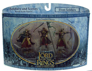 LOTR 3-inch: Elven Soldiers