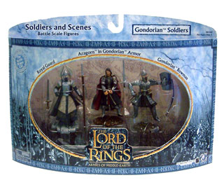 LOTR 3-inch: Gondorian Soldiers