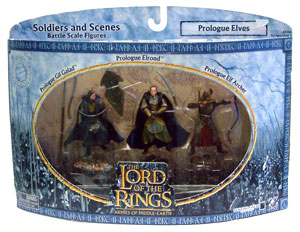LOTR 3-inch: Prologue Elves