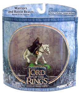 LOTR 3-inch: Merry in Rohan Armor on Pony