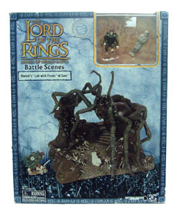LOTR 3-inch: Shelob Lair with Frodo and Sam