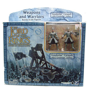 LOTR 3-inch: Gondorian Catapult with 2 Gondorian Soldiers