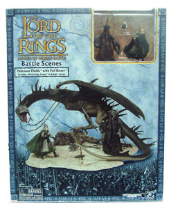 LOTR 3-inch: Pelennor Fields with Fell Beast