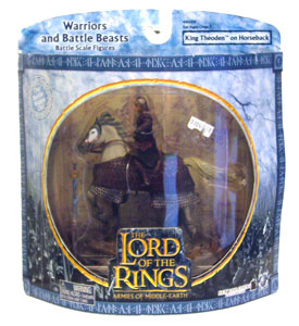 LOTR 3-inch: King Theoden on Horseback