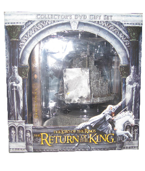 LOTR Return of the King Collectors DVD Set with AOME MINAS TIRITH CITY