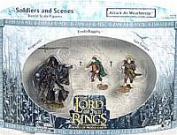 LOTR 3-inch: Attack at Weathertop [Frodo, Samwise and Ringwraith]