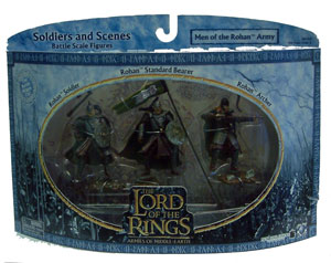 LOTR 3-inch: Men of the Rohan Army