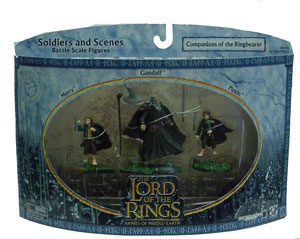 LOTR 3-inch: Companions of the Ringbearer