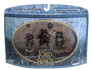 LOTR 3-inch: Fighting Fellowship