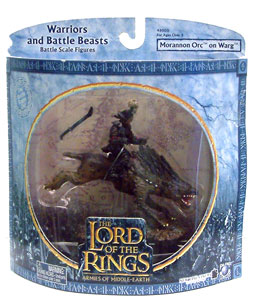 LOTR 3-inch: Morannon Orc on Warg