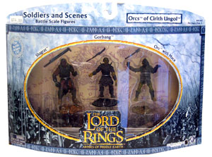 LOTR 3-inch: Orcs of Cirith Ungol