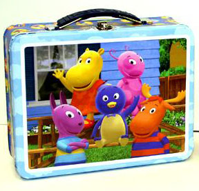 Lunchbox - Backyardigan Aqua