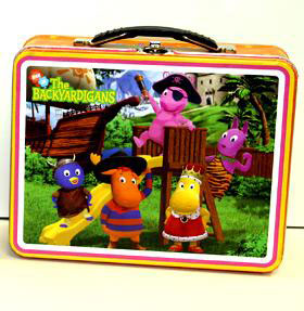 Lunchbox - Backyardigan Orange