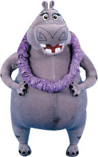 Madagascar 8-Inch Plush: Gloria The Hippo