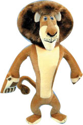 Madagascar 8-Inch Plush: Alex The Lion