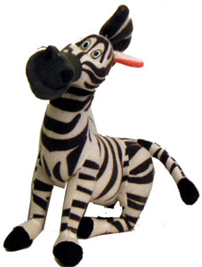 Madagascar 8-Inch Plush: Marty The Zebra