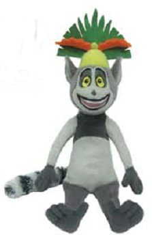 Madagascar 6-Inch Beanie: King Julien