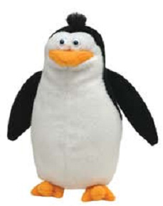 Madagascar 6-Inch Beanie: Rico The Penguin