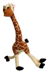 Madagascar 8-Inch Plush: Melmann The Giraffe