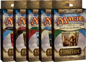 Magic The Gathering(MTG) Conflux Intro Pack - 5 Decks