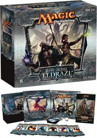 Magic The Gathering(MTG) Rise Of the Eldrazi Fat Pack