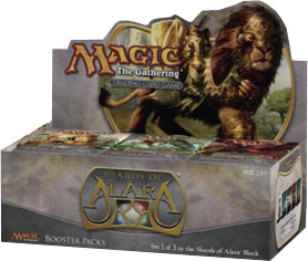 Magic The Gathering(MTG) Shards of Alara Booster Box
