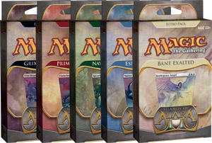 Magic The Gathering(MTG) Shards Of Alara Intro Pack - 5 Decks