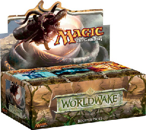 Magic The Gathering(MTG) WorldWake Booster Box