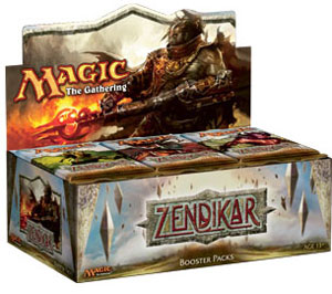Magic The Gathering(MTG) Zendikar Booster Box