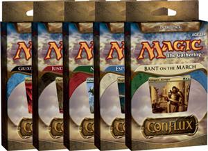 Magic The Gathering(MTG) Conflux Intro Pack - 5 Decks