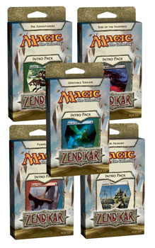 Magic The Gathering(MTG) Zendikar Intro Pack - 5 Decks