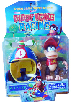 Diddy Kong Racing - Diddy Kong with Motorized Plane Racer