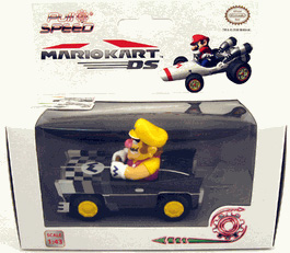 Mario Kart DS 3-Inch Vehicle Figure Pull Speed - Wario