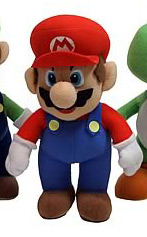 6-Inch Nintendo Mario Version 2 Plush